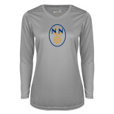 Ladies Syntrel Performance Platinum Longsleeve Shirt-Icon