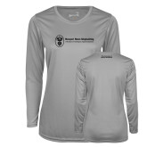 Ladies Syntrel Performance Platinum Longsleeve Shirt-Manufacturing and Material Distribution