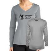 Ladies Syntrel Performance Platinum Longsleeve Shirt-Fleet Support Programs