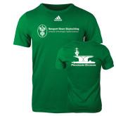 Adidas Kelly Green Logo T Shirt-Programs Division