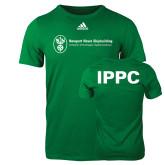 Adidas Kelly Green Logo T Shirt-IPPC