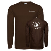 Brown Long Sleeve T Shirt-NNS IT