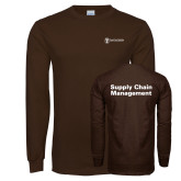 Brown Long Sleeve T Shirt-Strategic Sourcing