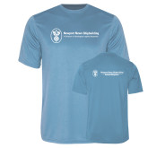 Performance Light Blue Tee-Business Management