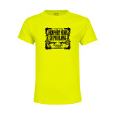 Youth Neon Yellow T Shirt-NNS Vintage