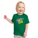 Toddler Kelly Green T Shirt-Future Shipbuilder Carrier Ship