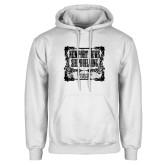 White Fleece Hoodie-NNS Vintage