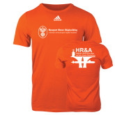 Adidas Orange Logo T Shirt-HR and A
