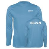 Performance Light Blue Longsleeve Shirt-ISCVN
