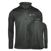 Russell Charcoal Heather 1/4 Zip-Business Management