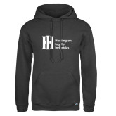 Russell DriPower Charcoal Fleece Hoodie-Huntington Ingalls Industries