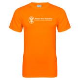 Neon Orange T Shirt-Newport News Shipbuilding