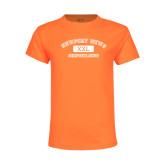 Youth Neon Orange T Shirt-NNS College Design