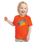 Toddler Orange T Shirt-Future Shipbuilder Carrier Ship