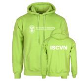 Lime Green Fleece Hoodie-ISCVN