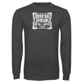 Charcoal Long Sleeve T Shirt-NNS Vintage