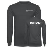 Charcoal Long Sleeve T Shirt-ISCVN