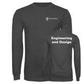 Charcoal Long Sleeve T Shirt-Engineering and Design