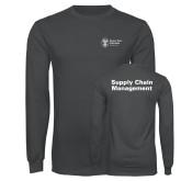 Charcoal Long Sleeve T Shirt-Strategic Sourcing