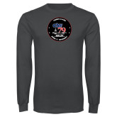 Charcoal Long Sleeve T Shirt-CVN 79