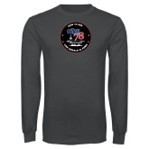 Charcoal Long Sleeve T Shirt-CVN 78