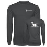 Charcoal Long Sleeve T Shirt-Programs Division