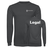 Charcoal Long Sleeve T Shirt-Legal