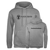 Russell DriPower Grey Fleece Hoodie-Comms