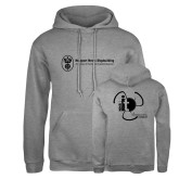 Russell DriPower Grey Fleece Hoodie-NNS IT