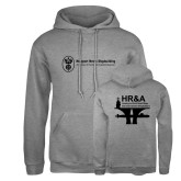 Russell DriPower Grey Fleece Hoodie-HR & A