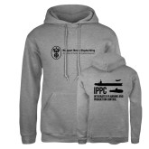 Russell DriPower Grey Fleece Hoodie-IPPC
