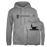 Russell DriPower Grey Fleece Hoodie-Programs Division