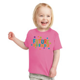 Toddler Fuchsia T Shirt-Future Shipbuilder