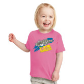 Toddler Fuchsia T Shirt-Future Shipbuilder Carrier Ship