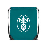 Teal Drawstring Backpack-Icon