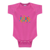 Fuchsia Infant Onesie-Future Shipbuilder