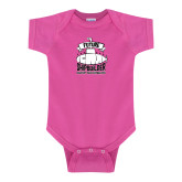 Fuchsia Infant Onesie-Future Shipbuilder Submarine