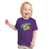 Toddler Purple T Shirt-Future Shipbuilder Carrier Ship