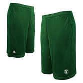 Russell Performance Dark Green 10 Inch Short w/Pockets-Icon
