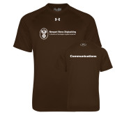 Under Armour Brown Tech Tee-Comms