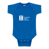 Royal Infant Onesie-Huntington Ingalls Industries