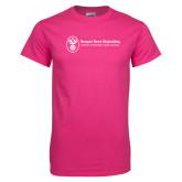 Cyber Pink T Shirt-Newport News Shipbuilding
