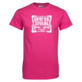 Cyber Pink T Shirt-NNS Vintage