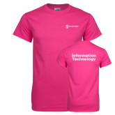 Cyber Pink T Shirt-Information Technology
