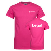 Cyber Pink T Shirt-Legal