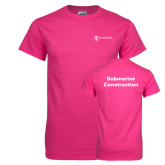 Cyber Pink T Shirt-Submarine Construction