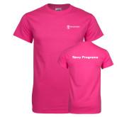 Cyber Pink T Shirt-Navy Programs