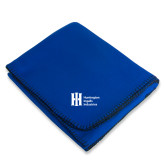 Royal Arctic Fleece Blanket-Huntington Ingalls Industries