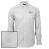 Red House White Diamond Dobby Long Sleeve Shirt-Newport News Shipbuilding
