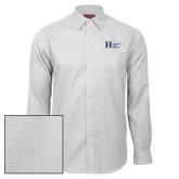 Red House White Diamond Dobby Long Sleeve Shirt-Huntington Ingalls Industries